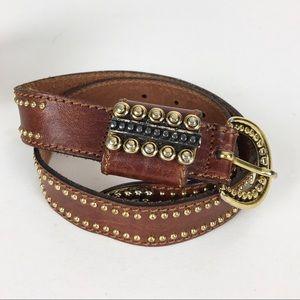 Doppla Vita Belt Leather Boho Italian